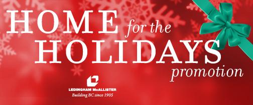 Holiday Promotion Ledingham McAllister