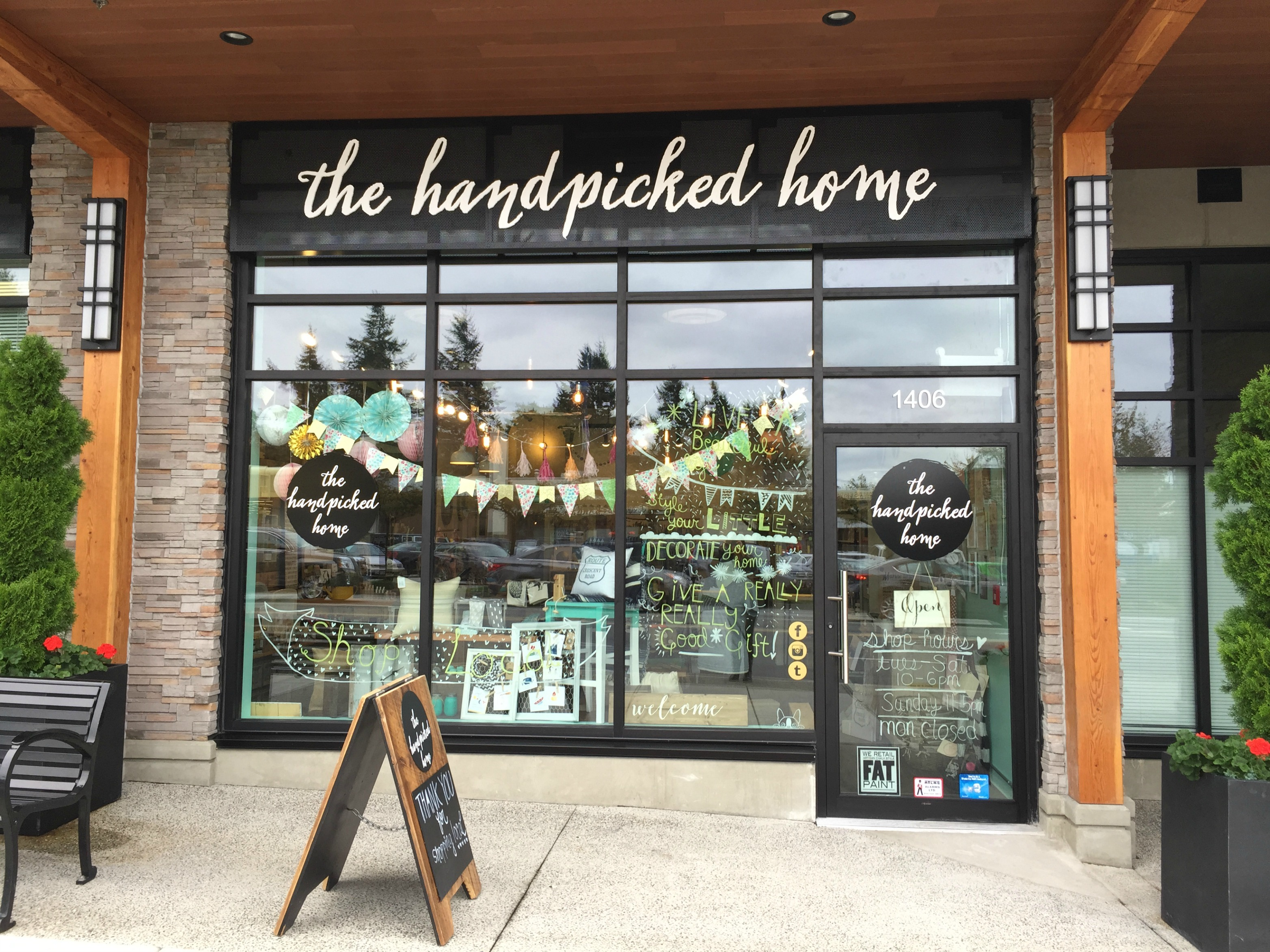 the handpicked home turns one ledingham mcallister