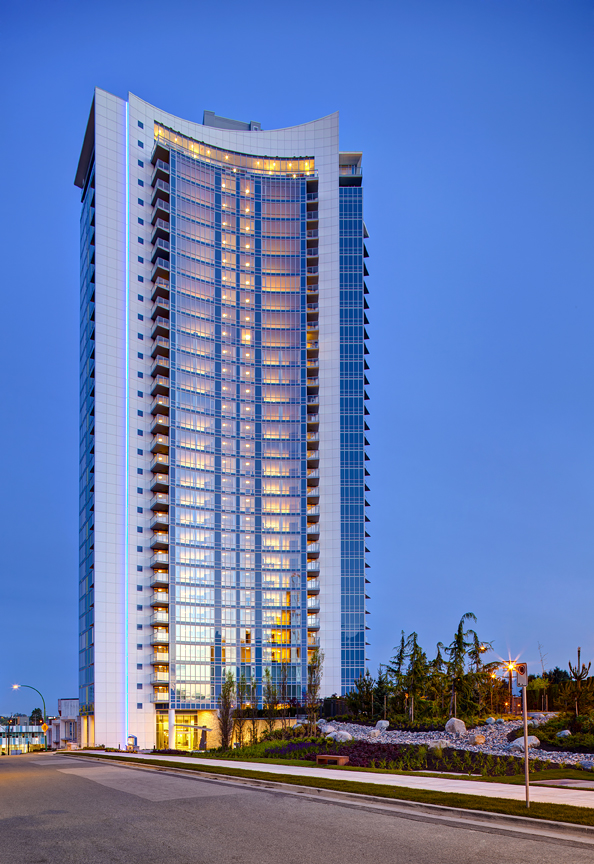 Luxury high-rise Burnaby, New condos Brentwood, Aviara by Ledingham McAllister