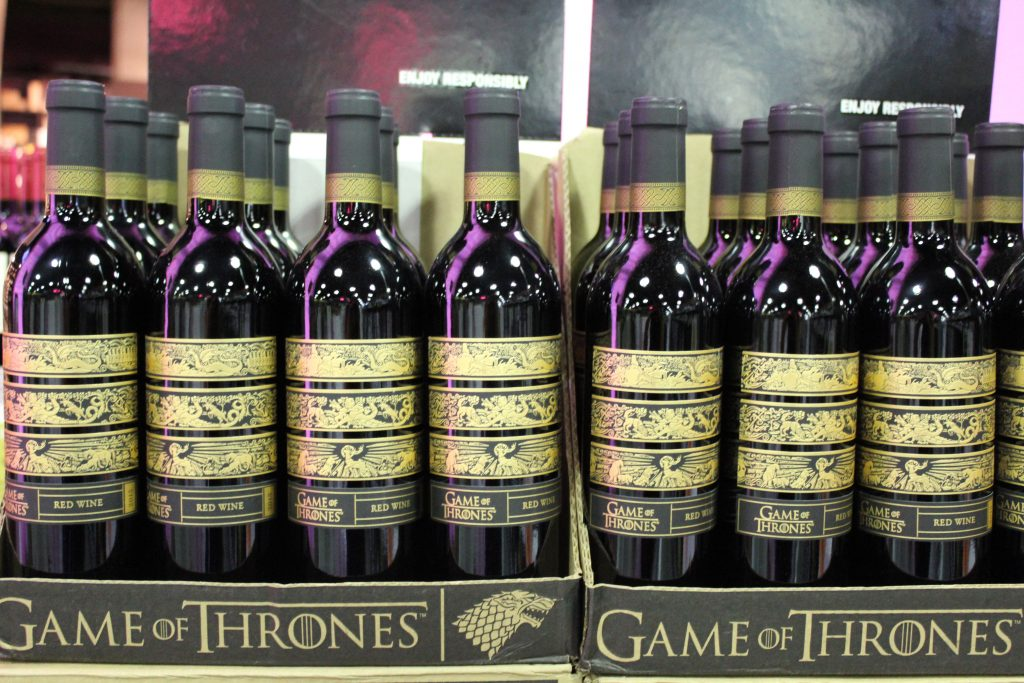 Game of Thrones Everything Wine